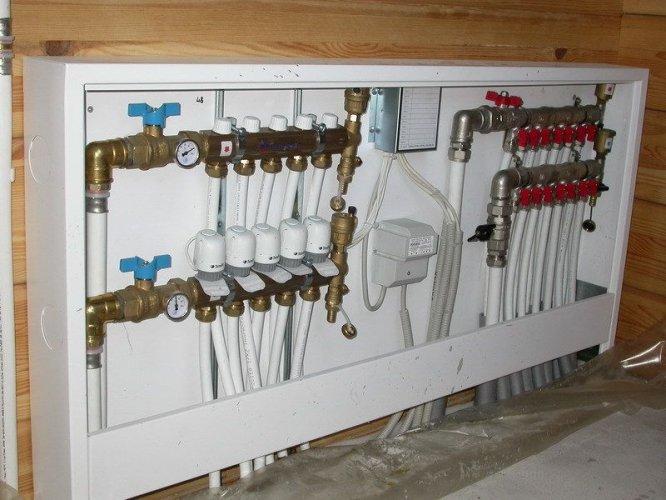 Монтаж систем отопления загородного частного дома. Стоимость монтажа водоснабжения и отопления.